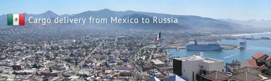 Cargo delivery from Mexico to Russia