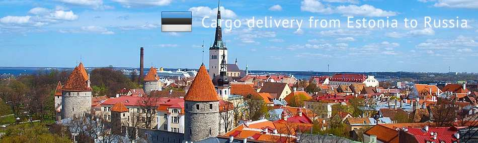 Cargo delivery from Estonia to Russia