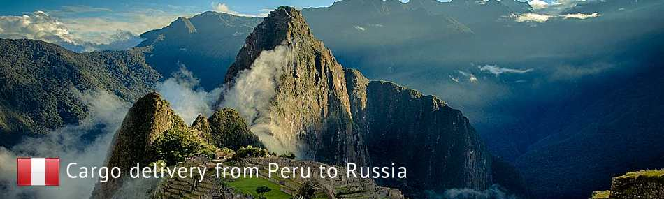 Cargo delivery from Peru to Russia