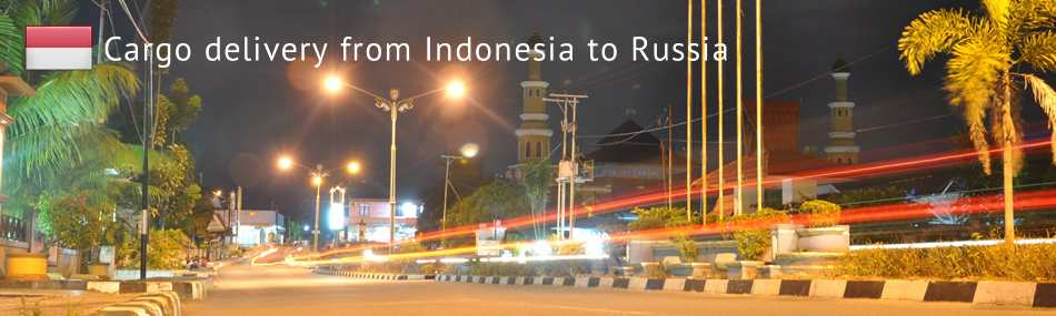 Cargo delivery from Indonesia to Russia