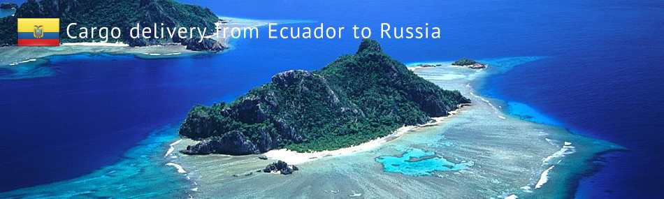 Cargo delivery from Ecuador to Russia